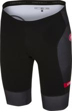 Castelli Free Tri Shorts Svarta, 2 fickor, SnapLock