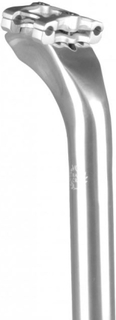 Velo Orange Grand Cru Sadelstolpe Silver, 27,2x400mm, 30mm offset, 301g.