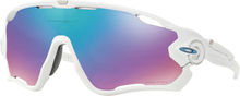 Oakley Jawbreaker Prizm Glasögon Polished White/Prizm Snow