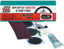 Tip Top Tubeless Repair Kit lagningskit 3 lappar, lim, sandpapper