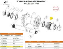 Formula FH-522A Frihjulsbody Sram XD, DHT-1481
