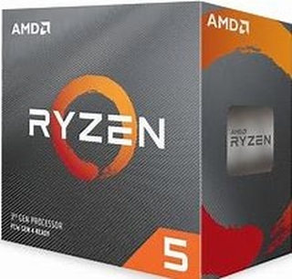 AMD Ryzen 5 3600X Processor (6C/12T, 35MB Cache, 4.4 GHz Max Boost)6 cores, 12 threads, 4.4 GHZ boost clock, 95W TDPCompatible with 500 & 400 chipset Series AM4 motherboardsWraith Spire Cooler includedWorlds most advanced desktop processor, Ultramodern, U