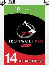 "Seagate 14TB Ironwolf Pro 3.5"" HDD SATA 3.0 7200RPM 256MB CacheIronWolf Pro is designed for everything business NAS. Get used to tough, ready, and scalable 24×7 performance that can handle multidrive environments across a wide range of capacities."