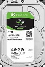 "Seagate 8TB BarraCuda 3.5"" HDD SATA 3.0 5400RPM 256MB CacheSeagate brings over 20 years of trusted performance and reliability tothe Seagate® BarraCuda® 3.5-inch HDD now available incapacities up to 8 TB."