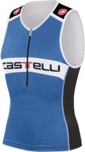 Castelli Core Tri Top Singlet Blå