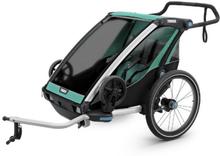 Thule Chariot Lite 2 Cykelvagn Blå, 12,5 kg, m/cykelkit