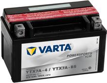 Varta Motorcykelbatteri Powersports AGM YTX7A-4 / YTX7A-BS