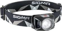Sigma Headled II Pannlampa Svart, 180 Lumen, 57g