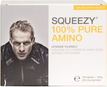 Squeezy 100% PureAmino 20 x 5gr, 100 tabletter