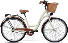 """Cykel Classic 28"""" - 3 växlar - gräddvit"""
