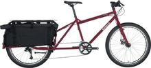 Surly Big Dummy Transportcykel Röd, Longtail cargobike