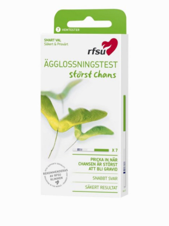 RFSU Ovulation Test 7-pack Graviditetstest Transparent