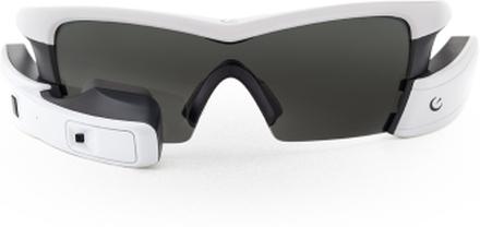 Recon Jet Smart Glasögon Vit, Med display, kamera och Cykeldator