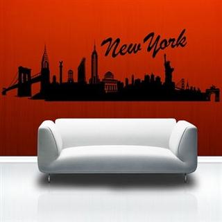 Wallsticker New York skyline