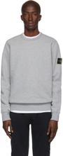 Stone Island Grey Crewneck Sweatshirt