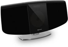 BlackMask vertikal-stereoanläggning CD FM och DAB+ tuner BT svart