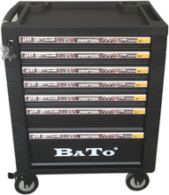 BATO verktygsvagn 9107, 7 lådor med 437 delar