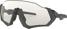 Oakley Flight Jacket Glasögon Grey Ink/Photochromic
