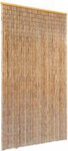 vidaXL Dörrdraperi i bambu 100x220 cm