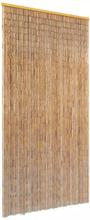 vidaXL Dörrdraperi i bambu 90x220 cm