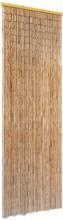 vidaXL Dörrdraperi i bambu 56x185 cm
