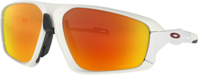 Oakley Field Jacket Glasögon Matte White/Prizm Ruby