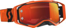Scott Prospect Glasögon Svart/Orange, Orange Chrome+ klar Lins