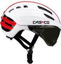 Casco SPEEDairo Hjälm M/Visir Vit, Enastående aerodynamik!