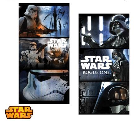 Star Wars Rogue One badehåndklæde, Stormtroopers, 70 x 140 cm - TheFairytaleCompany