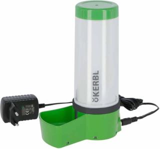 Kerbl vandskål til dyr NoFrost Superior 2.0 8 W 330 ml grøn
