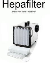 Dustcontrol 42692 HEPA-filter cellulosa, glasfiber
