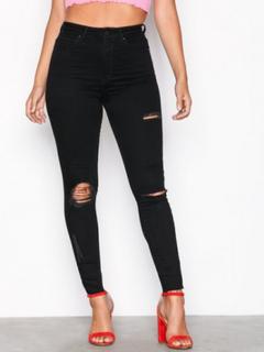 Gina Tricot Gina Curve Jeans Slim Black