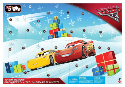 Cars 3 - Adventskalender 2017