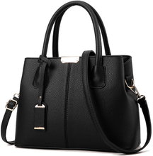 Women Bag Vintage Casual Tote Top-Handle Women Messenger Bags Shoulder student Handbag Purse Wallet Leather 2019 New