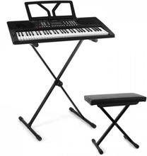 Etude 300 Keyboard-Set Stativ Bänk Svart