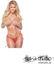 Date Night Remote Control Panties - Red - One-Size