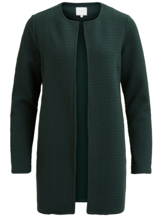 VILA Simple, Long Jacket Women Green