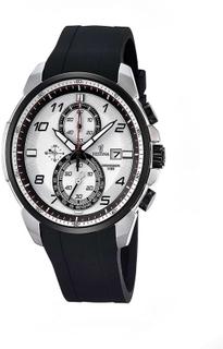 Festina F6841/1 Mens svart gummi Chronograph Watch