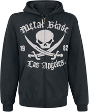Metal Blade - Pirate Logo -Hettejakke - svart