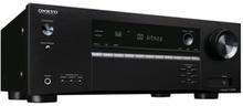 Onkyo TX-SR494 - AV-receiver - 4K - HDR - 7,2-kanal - 7 x 160 Watt - svart