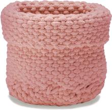 Rope säilytyskori Dusty pink