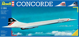 Flygmodell byggsats Revell Concorde British Airway