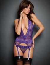 Dark Temptations Purple Lingerie