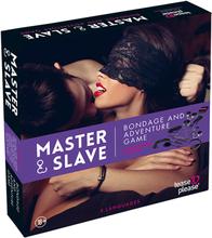 Master & Slave Bondage Erotisk Spel Lila
