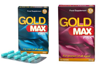 Par Utökad Lust Paket 4 - Gold Max - spara 15%