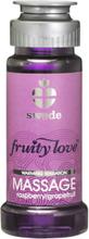 Swede - Fruity Love Värmande Massageolja Rasp/Grapefruit 50 ml