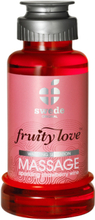 Swede - Fruity Love Värmande Massageolja SparklingStrawberry 100