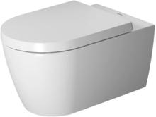 Duravit ME by Starck væghængt toilet, rimsless, hygieneglaze, hvid