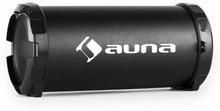 Dr. Beat 2.1 bluetooth-högtalare USB SD AUX FM batteridriven svart