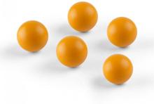 Ballyhoo reservbollar extrabollar 5 softbollar polyuretan orange